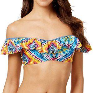 NWT Jessica Simpson Surfside Ruffle Sleeve Top